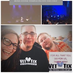 Click To Read More Feedback from Bush, Stone Temple Pilots and the Cult - Revolution 3 Tour