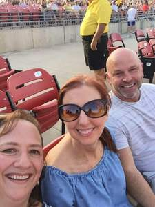 Karen attended Counting Crows With Special Guest +live+: 25 Years and Counting on Jul 21st 2018 via VetTix