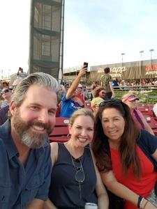 Gavin attended Counting Crows With Special Guest +live+: 25 Years and Counting on Jul 21st 2018 via VetTix