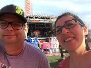 Chase attended Counting Crows With Special Guest +live+: 25 Years and Counting on Jul 21st 2018 via VetTix