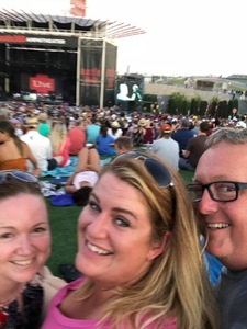 Pamela attended Counting Crows With Special Guest +live+: 25 Years and Counting on Jul 21st 2018 via VetTix