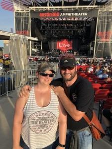 Stephen attended Counting Crows With Special Guest +live+: 25 Years and Counting on Jul 21st 2018 via VetTix