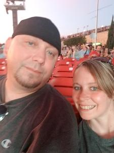 Heather attended Counting Crows With Special Guest +live+: 25 Years and Counting on Jul 21st 2018 via VetTix