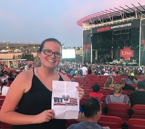 Kevin attended Counting Crows With Special Guest +live+: 25 Years and Counting on Jul 21st 2018 via VetTix