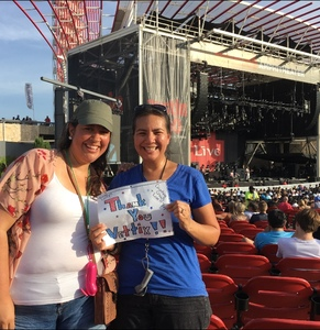 Michelle attended Counting Crows With Special Guest +live+: 25 Years and Counting on Jul 21st 2018 via VetTix