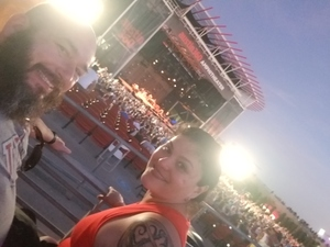 Curtiss attended Counting Crows With Special Guest +live+: 25 Years and Counting on Jul 21st 2018 via VetTix