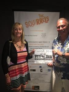David attended The Squirrels on Jul 6th 2018 via VetTix