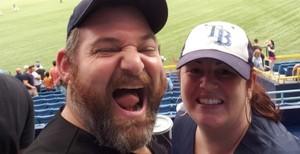 Michael attended Tampa Bay Rays vs. Houston Astros - MLB on Jul 1st 2018 via VetTix