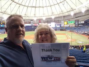 Daniel attended Tampa Bay Rays vs. Houston Astros - MLB on Jul 1st 2018 via VetTix