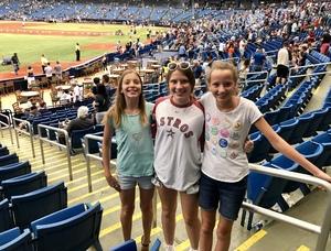 Sam Wesley attended Tampa Bay Rays vs. Houston Astros - MLB on Jul 1st 2018 via VetTix