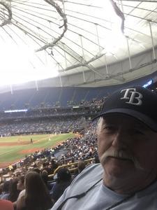 John attended Tampa Bay Rays vs. Houston Astros - MLB on Jul 1st 2018 via VetTix
