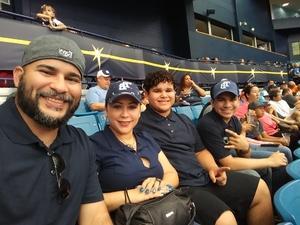 Lenn attended Tampa Bay Rays vs. Houston Astros - MLB on Jul 1st 2018 via VetTix