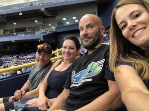 gregory attended Tampa Bay Rays vs. Houston Astros - MLB on Jul 1st 2018 via VetTix