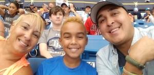 Johnny attended Tampa Bay Rays vs. Houston Astros - MLB on Jul 1st 2018 via VetTix