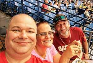 Robert attended Tampa Bay Rays vs. Houston Astros - MLB on Jul 1st 2018 via VetTix