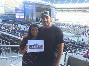 Dwight attended Kenny Chesney: Trip Around the Sun Tour With Old Dominion on Jul 7th 2018 via VetTix
