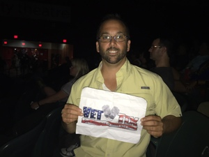 Francis attended Tedeschi Trucks Band on Jul 6th 2018 via VetTix