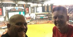 Jason attended Arizona Diamondbacks vs. San Francisco Giants - MLB on Jul 1st 2018 via VetTix
