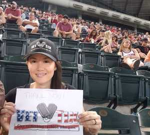 Joseph attended Arizona Diamondbacks vs. San Francisco Giants - MLB on Jul 1st 2018 via VetTix