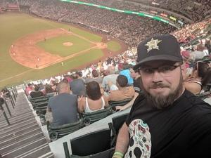 Kyle attended Arizona Diamondbacks vs. San Francisco Giants - MLB on Jul 1st 2018 via VetTix