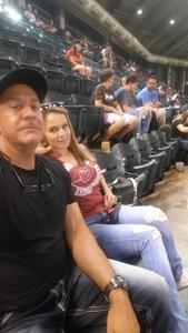 RODNEY attended Arizona Diamondbacks vs. San Francisco Giants - MLB on Jul 1st 2018 via VetTix