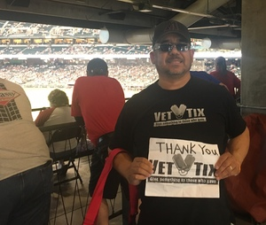 miguel attended Arizona Diamondbacks vs. San Francisco Giants - MLB on Jul 1st 2018 via VetTix