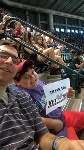 Gregory attended Arizona Diamondbacks vs. San Francisco Giants - MLB on Jul 1st 2018 via VetTix