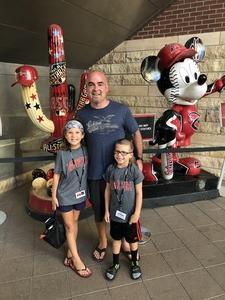 Justin attended Arizona Diamondbacks vs. San Diego Padres - MLB on Jul 5th 2018 via VetTix