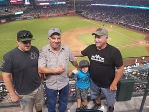 Micheal attended Arizona Diamondbacks vs. San Diego Padres - MLB on Jul 5th 2018 via VetTix