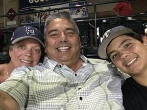 Ceaser attended Arizona Diamondbacks vs. San Diego Padres - MLB on Jul 5th 2018 via VetTix