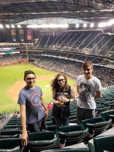 James attended Arizona Diamondbacks vs. San Diego Padres - MLB on Jul 5th 2018 via VetTix