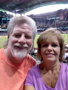 Richard attended Arizona Diamondbacks vs. San Diego Padres - MLB on Jul 5th 2018 via VetTix