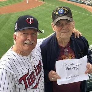 Melinda attended Minnesota Twins vs. Cleveland Indians - MLB on Aug 1st 2018 via VetTix