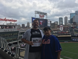 Martin attended Minnesota Twins vs. Cleveland Indians - MLB on Aug 1st 2018 via VetTix