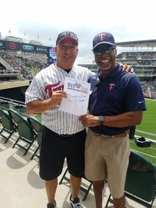 Mark Cornell attended Minnesota Twins vs. Cleveland Indians - MLB on Aug 1st 2018 via VetTix