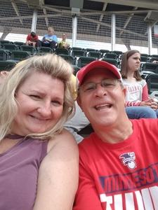 David attended Minnesota Twins vs. Cleveland Indians - MLB on Aug 1st 2018 via VetTix