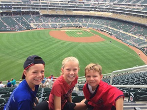 Ken attended Minnesota Twins vs. Cleveland Indians - MLB on Aug 1st 2018 via VetTix