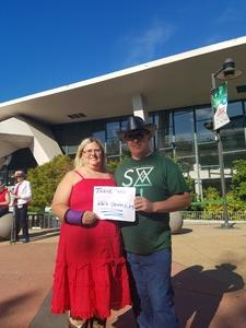 Frederick attended Tim McGraw & Faith Hill Soul2Soul the World Tour 2018 - Country on Jul 13th 2018 via VetTix
