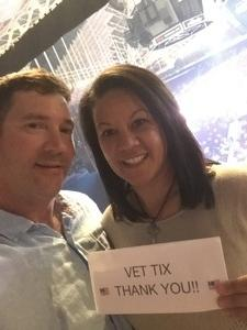 Jeff attended Tim McGraw & Faith Hill Soul2Soul the World Tour 2018 - Country on Jul 13th 2018 via VetTix