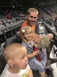 Peter attended Hoops for Troops - Las Vegas Aces. Vs. Chicago Sky - WNBA on Jul 5th 2018 via VetTix