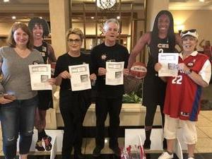 Linda attended Hoops for Troops - Las Vegas Aces. Vs. Chicago Sky - WNBA on Jul 5th 2018 via VetTix