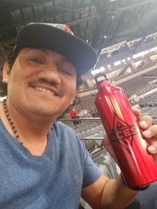 Adalberto attended Hoops for Troops - Las Vegas Aces. Vs. Chicago Sky - WNBA on Jul 5th 2018 via VetTix