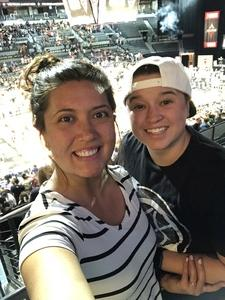 Lucrecia Bocanegra attended Hoops for Troops - Las Vegas Aces. Vs. Chicago Sky - WNBA on Jul 5th 2018 via VetTix