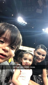 Luis attended Hoops for Troops - Las Vegas Aces. Vs. Chicago Sky - WNBA on Jul 5th 2018 via VetTix