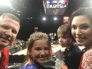 Robert attended Hoops for Troops - Las Vegas Aces. Vs. Chicago Sky - WNBA on Jul 5th 2018 via VetTix