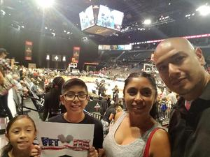 ruben attended Hoops for Troops - Las Vegas Aces. Vs. Chicago Sky - WNBA on Jul 5th 2018 via VetTix