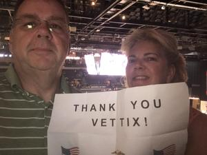 Larry attended Hoops for Troops - Las Vegas Aces. Vs. Chicago Sky - WNBA on Jul 5th 2018 via VetTix