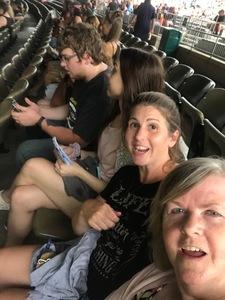 Candice attended Brad Paisley on Jul 5th 2018 via VetTix