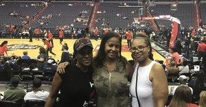 Chelsea attended Washington Mystics vs. New York Liberty - WNBA on Jul 5th 2018 via VetTix