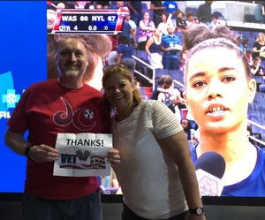 Andrew attended Washington Mystics vs. New York Liberty - WNBA on Jul 5th 2018 via VetTix